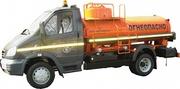 Топливозаправщик АТЗ-4.0 куб.м. на шасси ГАЗ-33106